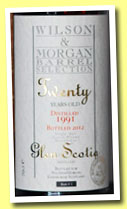 Glen Scotia 20 yo 1991/2012 (44.2%, Wilson & Morgan, Barrel Selection, sherry butt, cask #1)