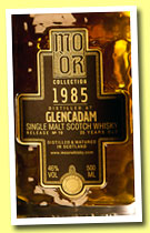 Glencadam 25 yo 1985/2010 (46%, Mo Or Collection, bourbon hogshead, cask #3997, 341 bottles)