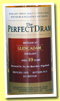 Glencadam 39 yo 1973/2013 (44.1%, The Perfect Dram, bourbon hogshead, 221 bottles)