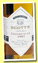 Glendullan 1981/2001 (55.5%, Scott's Selection)