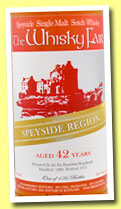Speyside 42 yo 1969/2011 (53.4%, The Whisky Fair, bourbon)