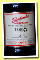Glenfarclas 1990/2011 'Family Casks' (57%, OB for TSMC Taiwan, cask #5098, 596 bottles)