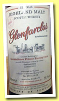 Glenfarclas 9 yo 2002/2011 (55.1%, OB, Kirchhellener Private Tasting Circle, casks #2655-2658, first fill oloroso, 677 bottles)
