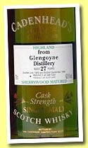 Glengoyne 26 yo 1969/1996 (63%, Cadenhead's Authentic Collection, gold seal)