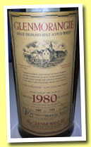 Glenmorangie 21 yo 1980/2001 (55.6%, OB, 744 bottles, Japan)