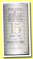 Highland Park 15 yo (46%, Cadenhead for Wilson & Morgan, +/-1992)