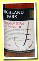 Highland Park 20 yo 1984/2004 (57.9%, OB for Germany, Cask #45)