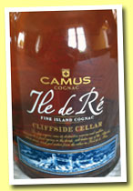 Camus 'Ile de Ré Cliffside Cellar' (40%, OB, Cognac, +/-2013)