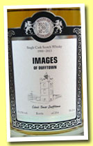 Images of Dufftown 1988/2013 'Clock Tower' (53.2%, Malts of Scotland, 254 bottles)