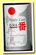 Karuizawa 1984/2012 (61.6%, Number One Drinks Company, sherry butt, cask #3692, 359 bottles)
