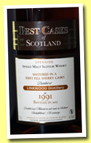 Linkwood 1991/2012 (46%, Jean Boyer, Best Casks of Scotland, first fill sherry)