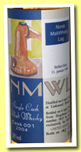 Linkwood 1989/2004 (58%, NMWL Norway, hogshead, cask #1835, 50cl)