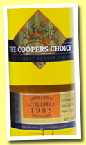 Littlemill 27 yo 1985/2012 (46%, Coopers Choice, hogshead, cask #116, 250 bottles)