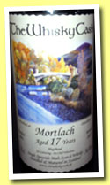 Mortlach 17 yo 1995/2012 (56.4%, The Whisky Cask, hogshead)