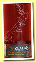 The New Zealand Whisky Collection 10 yo 'Doublewood' (40%, OB, Dunedin, New Zealand, +/-2013)