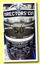 North British 50 yo 1962/2012 (57.1%, Douglas Laing, Directors' Cut, cask ref #8228, 222 bottles, +/-2013)