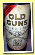 Old Guns (43%, OB, blend, Low Robertson, 1970s)