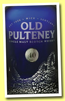 Old Pulteney 40 yo (51.3%, OB, 2012)