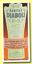 Raritas Diaboli 'Edition 2011/2012' (53.8%, OB, Slyrs, Germany, 1396 bottles)