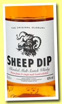 Sheep Dip (40%, Spencerfield Spirit Co, blended malt, +/-2012)