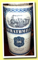 Strathmill 36 yo 1976/2012 (46.5%, Jack Wiebers, Old Train Line, bourbon, 210 bottles)