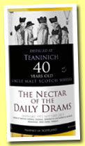 Teaninich 40 yo 1973/2013 (40.4%, The Nectar of the Daily Drams)