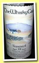 Teaninich 39 yo 1973/2013 (40.1%, The Whisky Cask, bourbon, cask #6068)