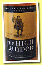 The Highlander (40%, Single Cask Collection, single malt, +/-2013)