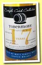Tobermory 17 yo 1995/2013 (54.9%, Single Cask Collection, bourbon hogshead, cask #699, 251 bottles)