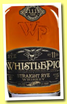 Whistle Pig 11 yo (55.5%, OB, USA, straight rye, +/-2013)