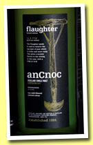 AnCnoc 'flaughter' (46%, OB, peated, 14.8ppm, 2014)