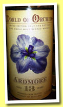 Ardmore 13 yo (57%, Jack Wiebers, World of Orchids, 2013)