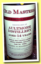 Aultmore 14 yo 1997/2012 (54.8%, James MacArthur, bourbon wood, cask #3592)