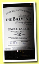 Balvenie 12 yo 'Single Barrel' (47.8%, OB, cask #12759, 2013)
