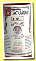 Ben Nevis 1984/2002 (61.2%, Blackadder, Raw Cask, sherry, cask #258)