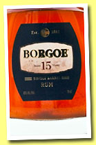 Borgoe 15 yo (40%, OB, Suriname, Single Barrel, +/-2013)