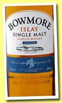 Bowmore 'Legend' (40%, OB, 2013)