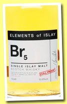 Br5 (53.8%, Speciality Drinks Ltd, Elements of Islay, 2013)