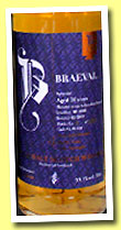 Braeval 21 yo 1991/2013 (53.1%, Brachadair, bourbon barrel, 230 bottles)