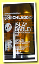 Bruichladdich 2007/2013 'Islay Barley' (50%, OB, Rockside Farm)