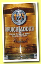 Bruichladdich 1989/2003 'Valinch 40 Not Out' (56%, OB, Refill Sherry, cask #160, 300 bottles)