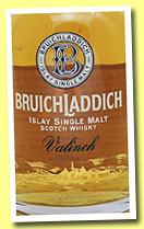 Bruichladdich 1988/2003 'Valinch Malt of the Year' (56.2%, OB, American oak, cask #1132, 300 bottles)