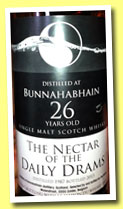 Bunnahabhain 26 yo 1987/2013 (62.5%, The Nectar of the Daily Drams, joint bottling with LMDW, pale version)