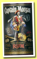 Captain Morgan 'Original Rum' (40%, OB, blended rum, +/-2013)