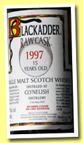 Clynelish 15 yo 1997/2012 (57%, Blackadder, Raw Cask, hogshead, cask #5724, 230 bottles)