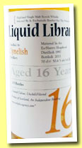 Clynelish 16 yo 1997/2013 (50.4%, The Whisky Agency, Liquid Library, sherry hogshead, 235 bottles)