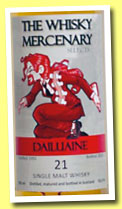 Dailuaine 21 yo 1992/2013 (53.3%, The Whisky Mercenary)