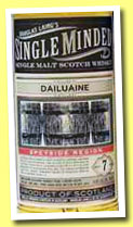 Dailuaine 7 yo 2005/2013 (41.5%, Douglas Laing, Single Minded, sherry butt)