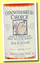 Dalwhinnie 1970/1993 (40%, Gordon & MacPhail, Connoisseurs Choice, Old Map Label)
