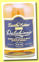Dalwhinnie 1997/2013 'Distiller's Edition' (43%, OB, D. SU. 312)